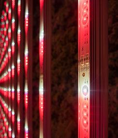 Foundation Farms LED Lights Hydroponic Farm