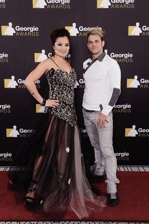 RED CARPET PICS @ THE GEORGIE AWARDS