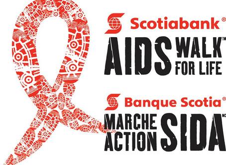 DESTINEAK PERFORMING AT SCOTIABANK AIDS WALK VANCOUVER