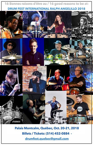 Bobby James aka DRUMNDIRTY to Represent Roland Canada at International Drum Festival, Montreal Oct.