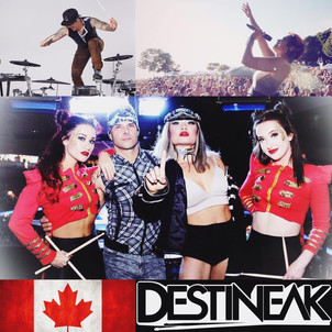 DESTINEAK PERFORMING LIVE ON CANADA DAY!
