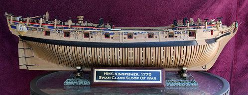 HMS Kingfisher Kit Plans