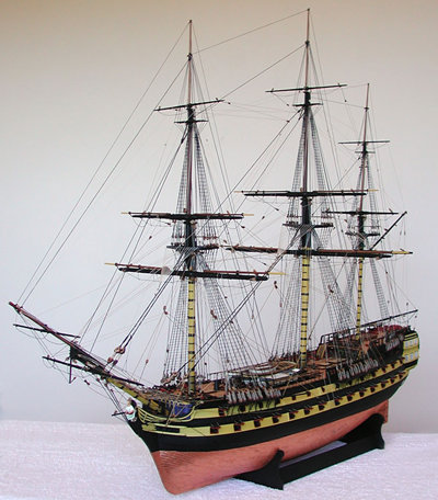 Sophomore Course, HMS Vanguard