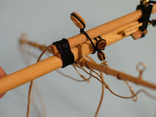 Junior Course, Rattlesnake Masting & Rigging