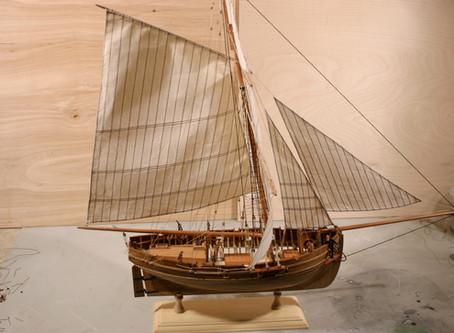Making Silkspan Sails