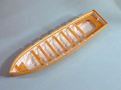 Modeling Ship's Boats