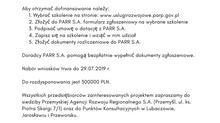 """VII edycja rekrutacji do projektu pt. """"Fundusz Usług Rozwojowych - wsparcie mikro, małych i średnich"""