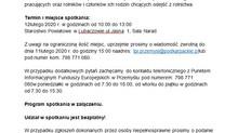 """Spotkanie warsztatowo-informacyjne w Lubaczowie nt. """"Dotacje na otwarcie działalności gospodarczej –"""
