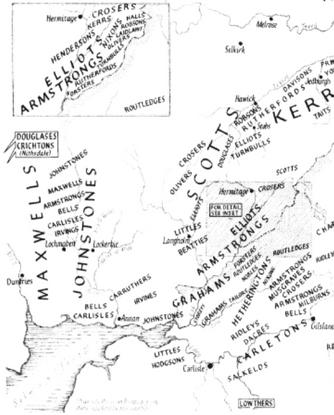 The Influence of Language on England's Landward Borders: 1558 to 1639