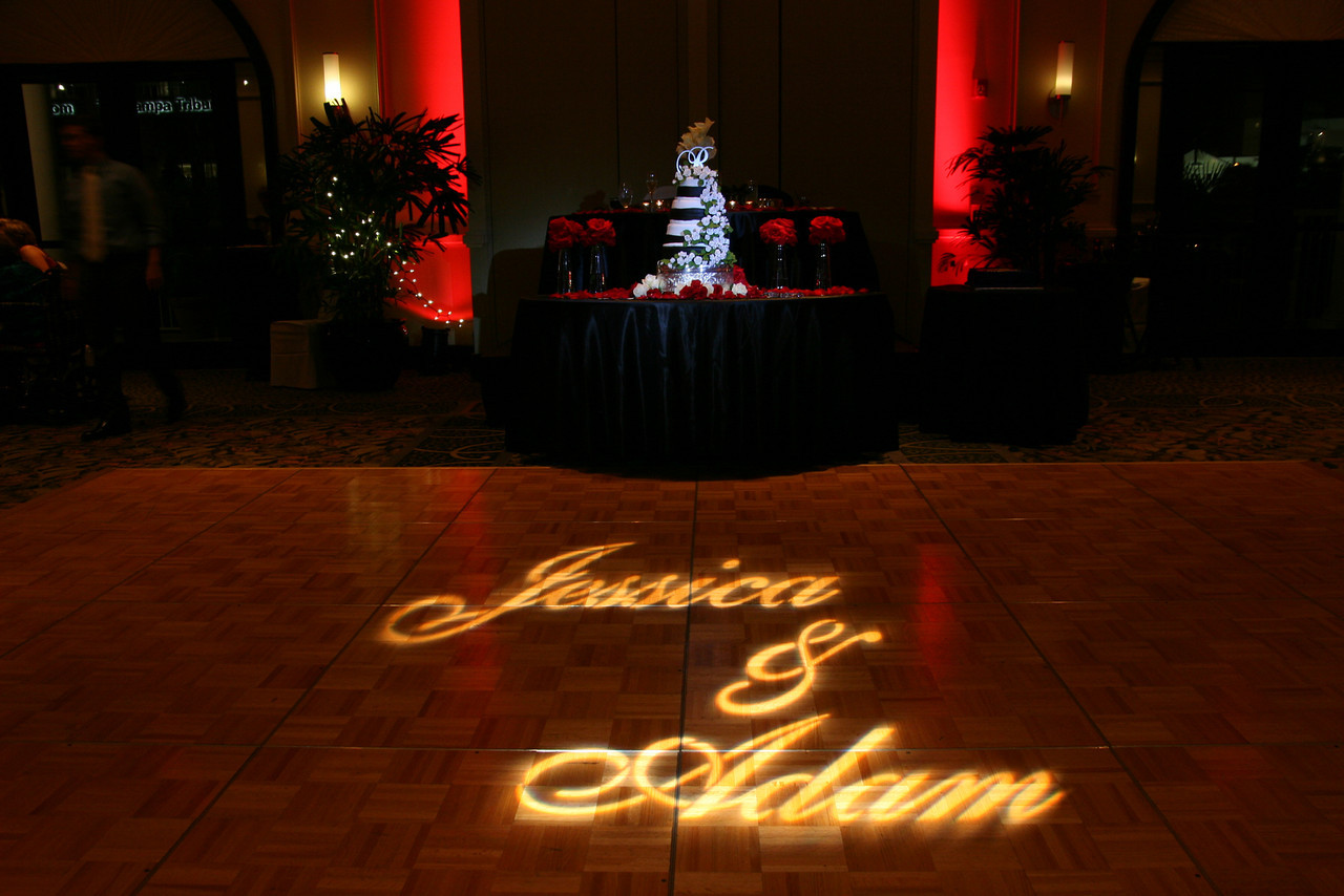 Custom Monogram Design - Dance Floor