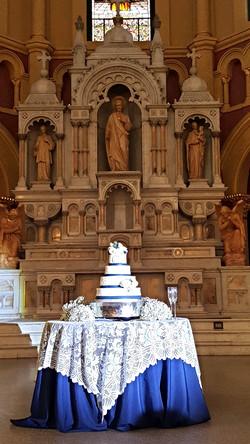 Cake Spot Light at Sacred Heart