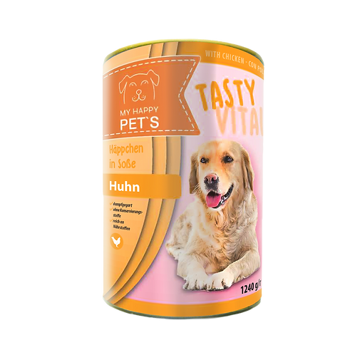 My Happy Pet'S  Hundefutter mit Huhn in Sauce