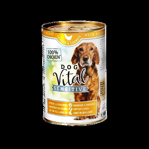 Dog Vital Sensitive Hundefutter Huhn & Karotten