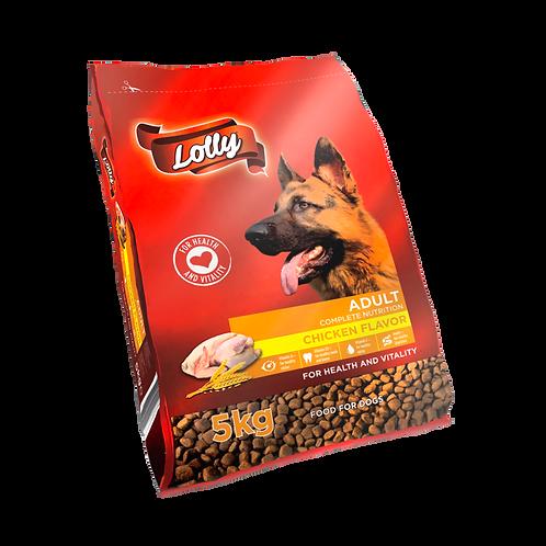 Lolly Hundefutter Adult mit Inulin Huhn 5kg