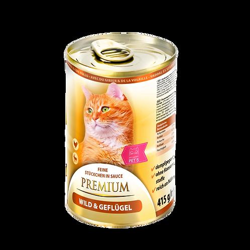 My Happy Pets Wild & Geflügel Premium 415g Dose