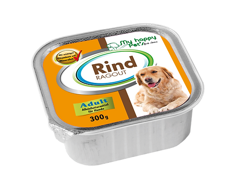 My Happy Pet'S  First choise Hundefutter mit Rind ragout