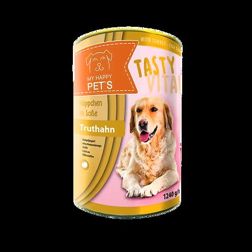 My Happy Pet'S  Hundefutter mit Truthahn in Sauce