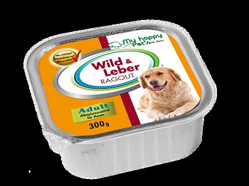 My Happy Pet'S  First choise Hundefutter mit Wild &Leber ragout