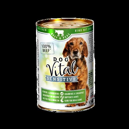 Dog Vital Sensitive Hundefutter Rind & Erbsen
