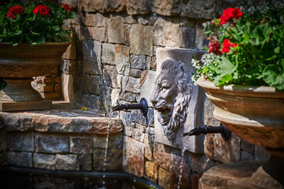 lion's head water feature