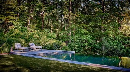 vanishing edge pool & reflections