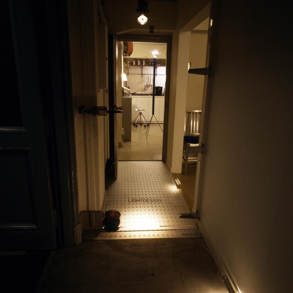 2001年発足当時のライトデザイン入口