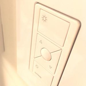 スタジオで実際に使用しているスイッチ photo by LIGHTDESIGN INC.