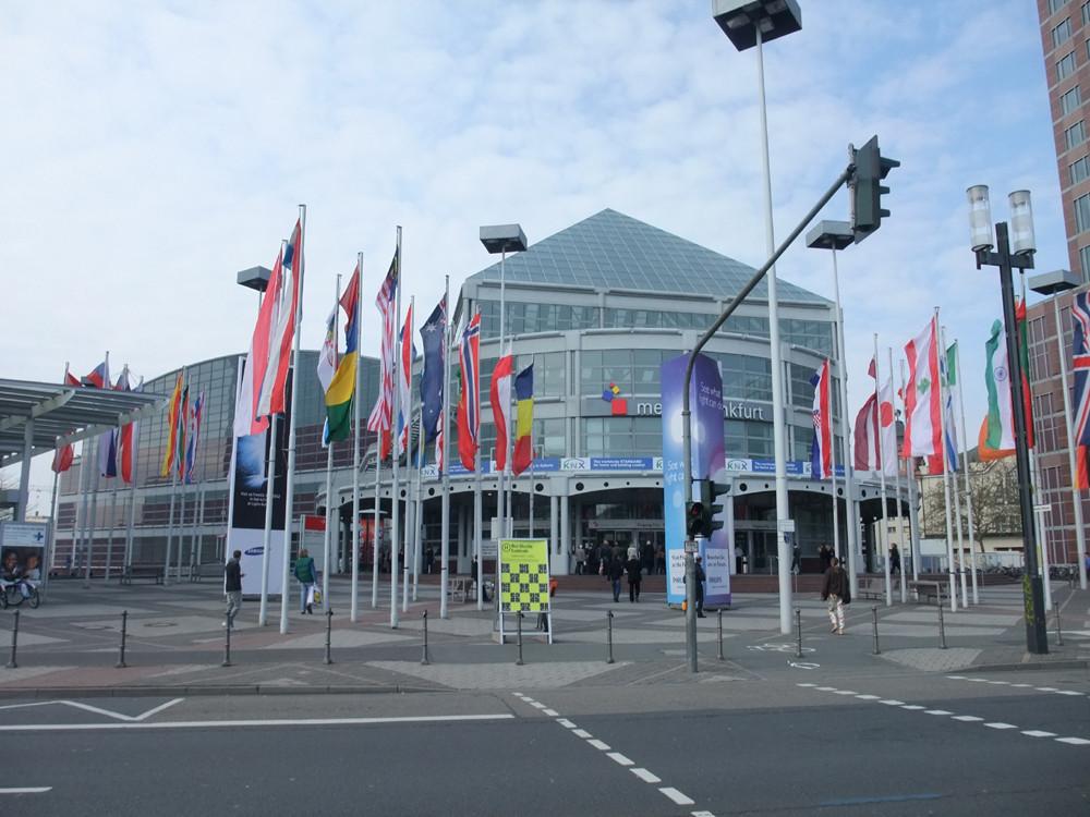 Light+Building 2012会場入口の様子