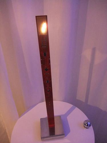 インゴ・マウラーのMY NEW FLAME(マイニューフレーム)というLEDライト
