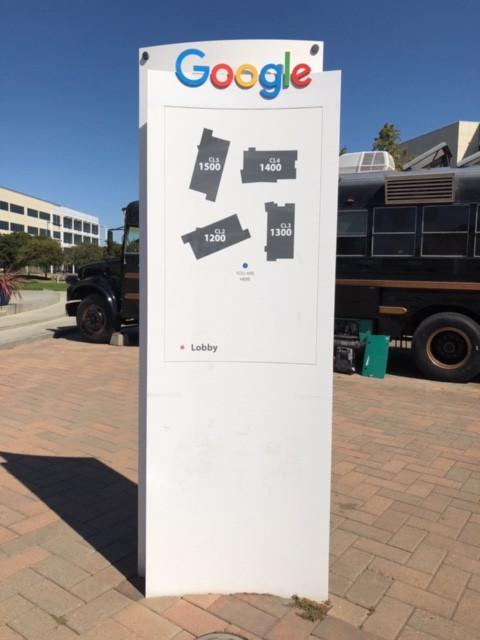 昨年訪れたグーグルのカリフォルニア本社