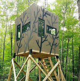 bow hunting blind