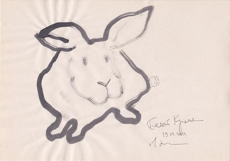 Белый кролик. 1914