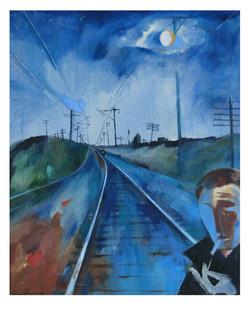 Поезд. 1987