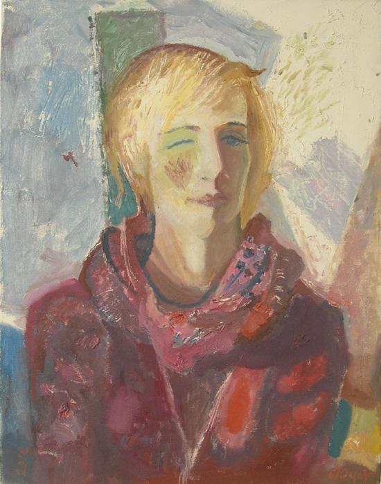 Портрет Суазик. 2012