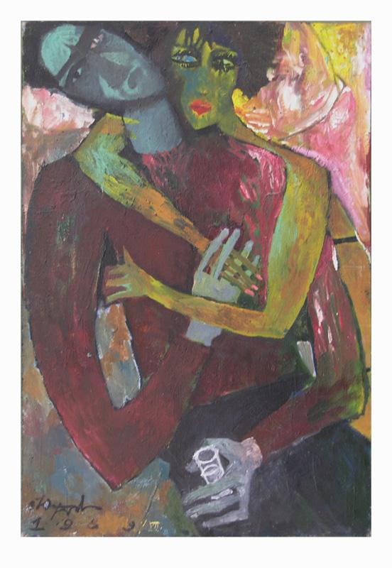 Любовники. 1989