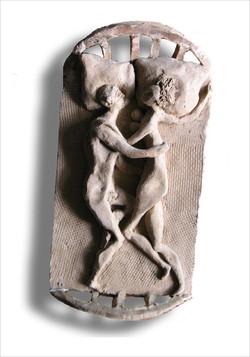 Двое (керамика). 1992