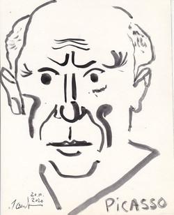 Пикассо. 2020