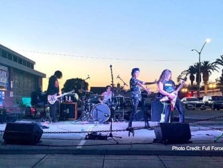 Downtown Brentwood's Recording Studio Supports the Community at the Local Car Show