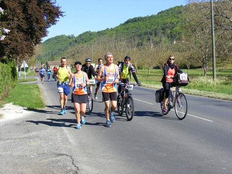 Corinne et Armel aux 100km de Belves