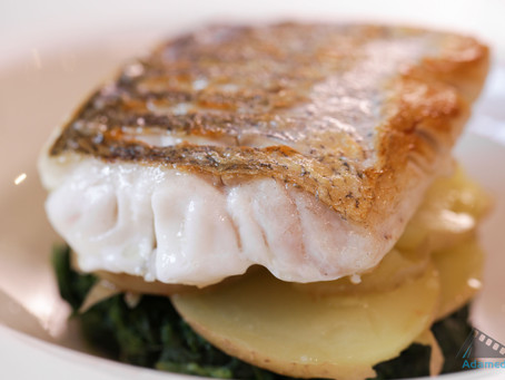 DEVILLED HAKE WITH CURLY KALE