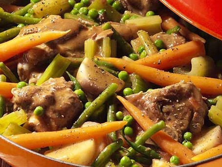 NAVARIN OF LAMB AND SPRING VEGETABLES