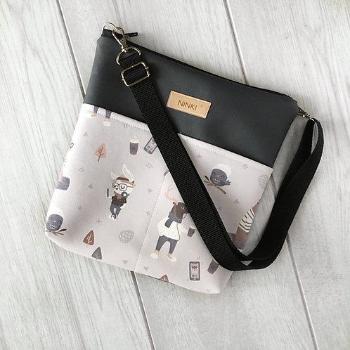 torebka dla dziewczynki ekoskóra (hipster)