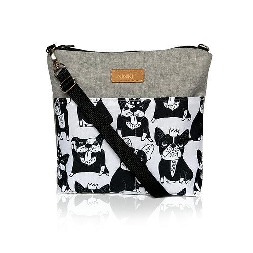 wodoodporna torebka dla dziewczynki (buldożki)