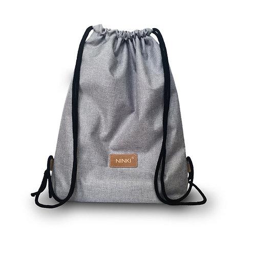 worko - plecak poliester (jasny szary)