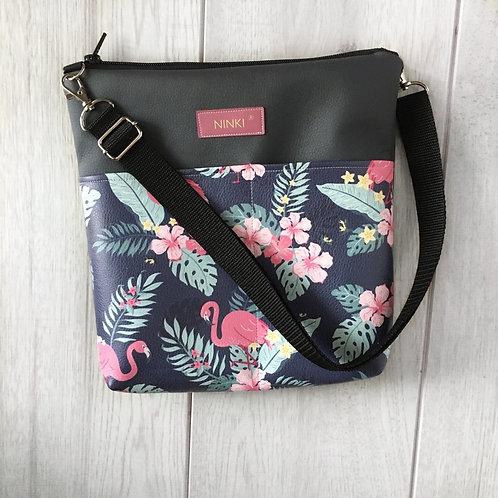 torebka dla dziewczynki ekoskóra (flamingi)