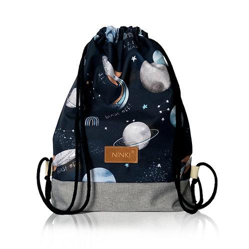 worko - plecak poliester (kosmos - jasny szary)