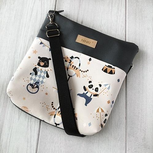 torebka dla dziewczynki ekoskóra (cyrk)