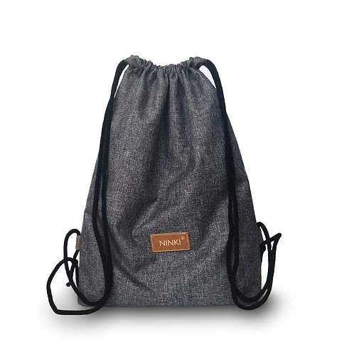 worko - plecak poliester (ciemny szary)