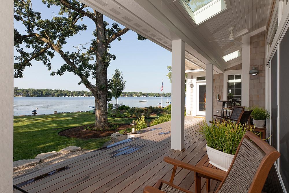 Custom Lake Front Home on Crystal Lake