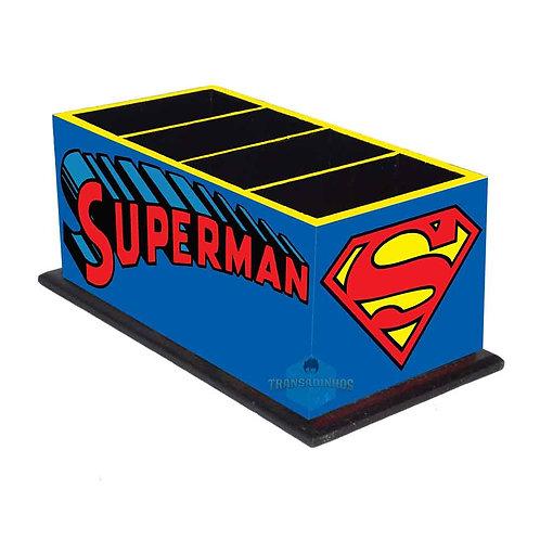 Porta Controle Remoto Superman